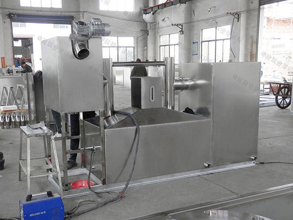 工程大地埋全能型油水分离处理装置正确安装