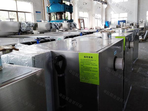商场中小型地下式自动油水分离一体化设备设计方案