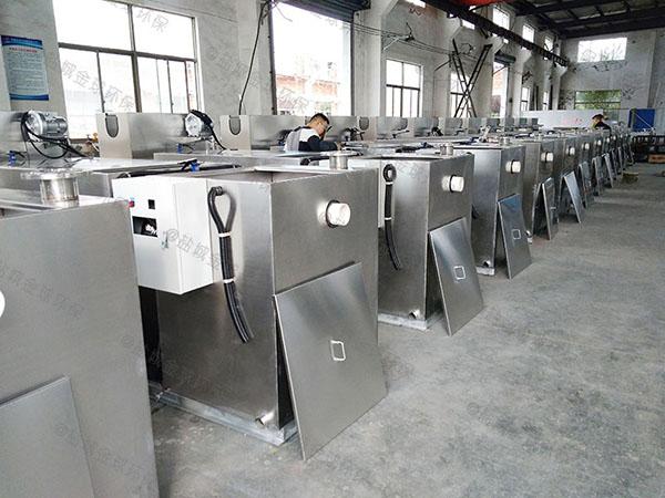 工程大型埋地移动式一体化隔油提升设备内部结构