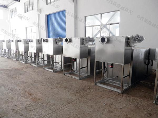 餐饮行业大地上智能化油水分离过滤设备调试方案