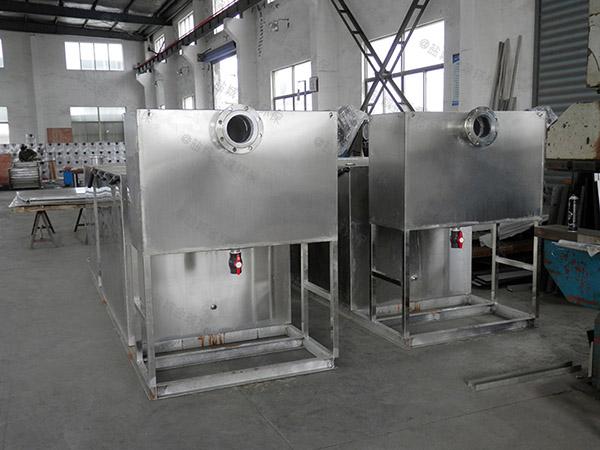 单位食堂埋地式自动除渣隔油强排一体化设备规格型号