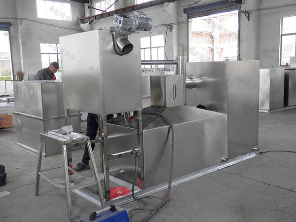 工地大埋地自动化成品隔油装置施工工艺