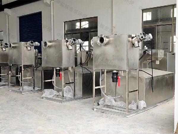 饭馆大地下室自动提升隔油提升设备制造厂家