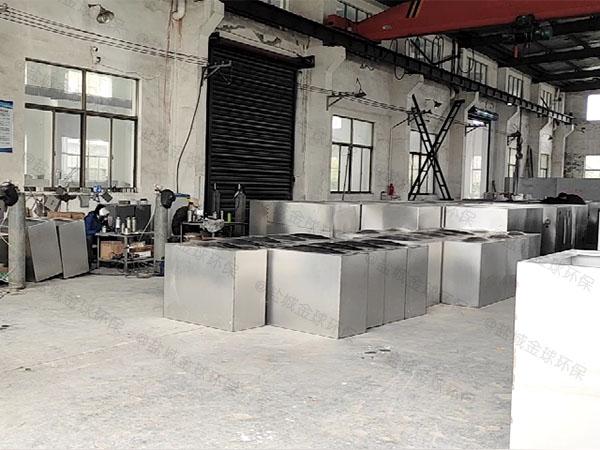 食堂用户外大自动排水不锈钢油水分离机技术参数厂家
