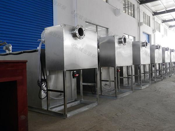 工厂食堂大型地下半自动气浮式隔油设备价格是多少