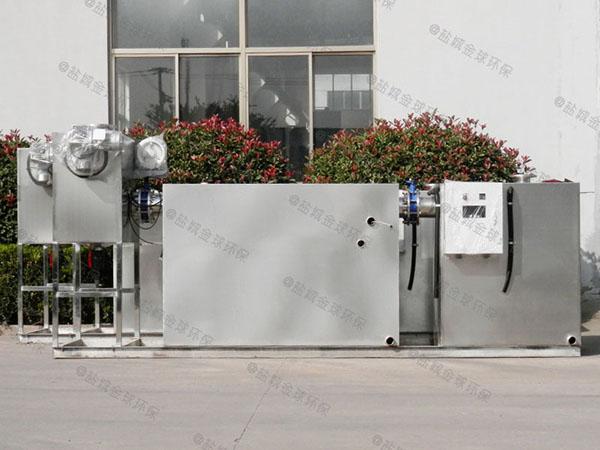 小饭店大型室外无动力油水渣分离器供应厂家