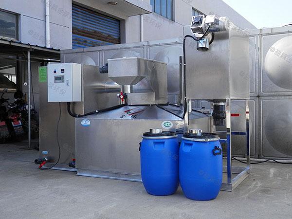 食堂埋地移动式隔油处理设备的价位