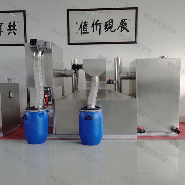 工地食堂地下式移动一体隔油提升设备厂家报价