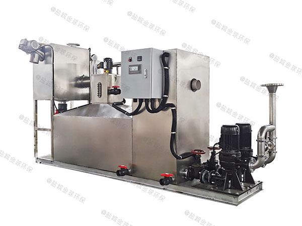 生活室内全能型隔油器自动提升装置工艺特点
