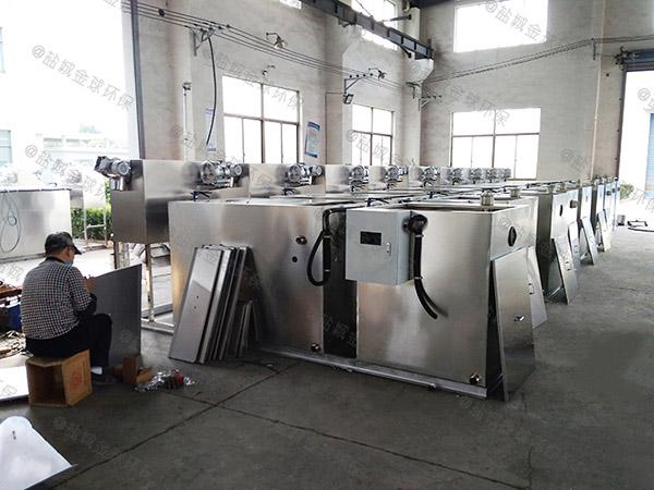 火锅专用户外移动油水分离处理设备需要哪些设备