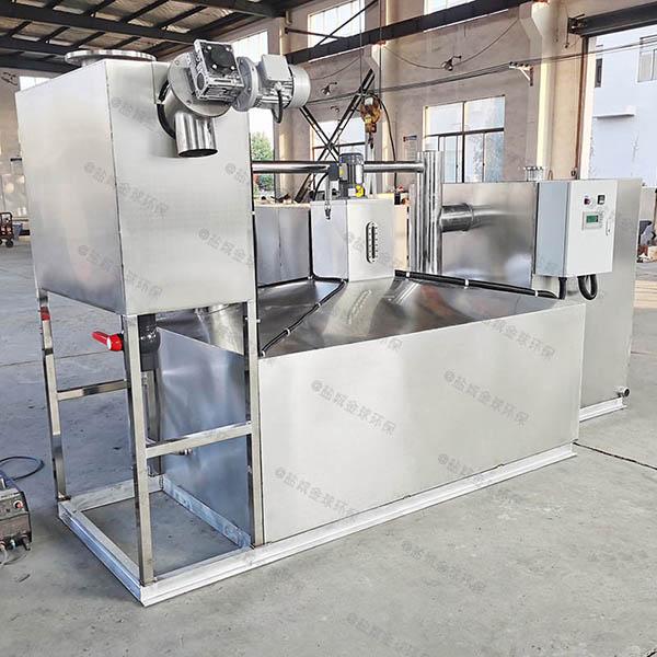 综合体地埋式中小型自动化隔油强排一体化设备的去除效率