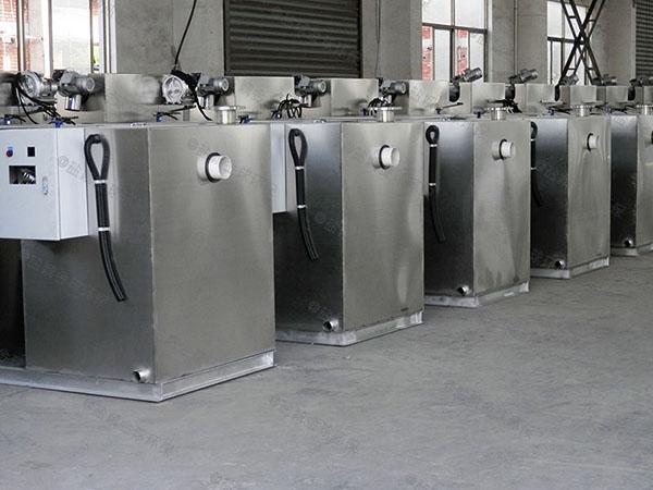 厨用大型地面全能型水油分离处理设备的图片