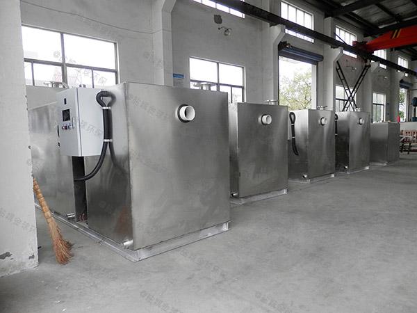 餐馆大型地面智能油水分离处理机企业