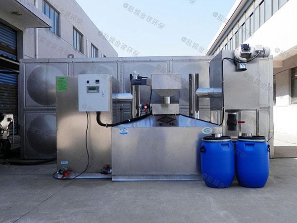 工地大型地上式智能化成品隔油池的型号规格