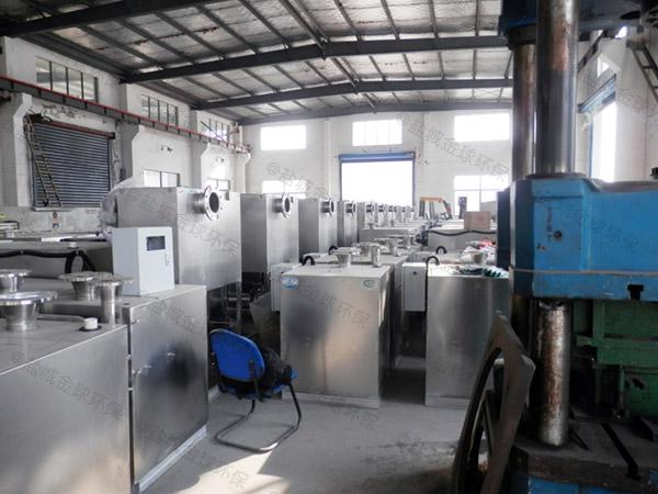 餐厨埋地式多功能污水隔油提升设备安装合同