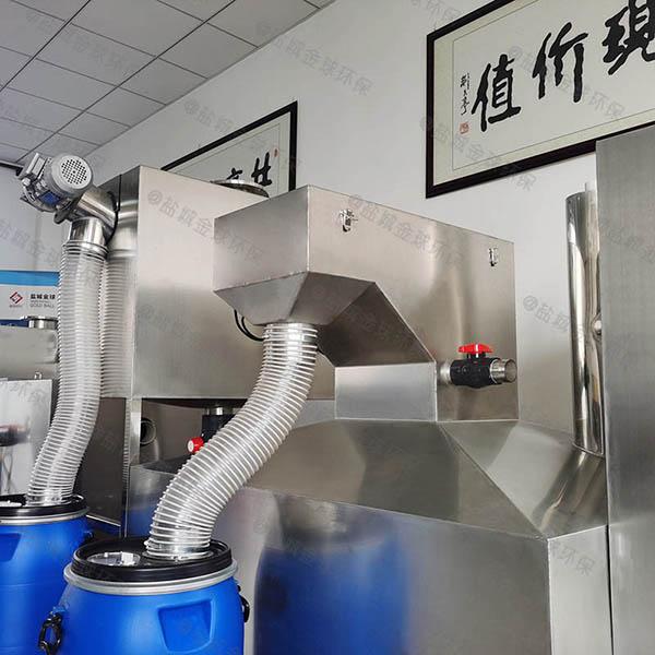 餐厨垃圾室外自动提升气浮式自动隔油器生产厂商