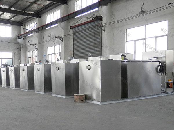 商家地下室大型智能化成套隔油池设备专业品牌