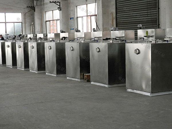 中餐地面一体化隔油池提升设备的厂家有那些