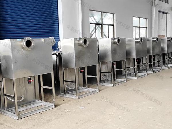 火锅专用地下式大型自动排水一体化隔油器哪儿买