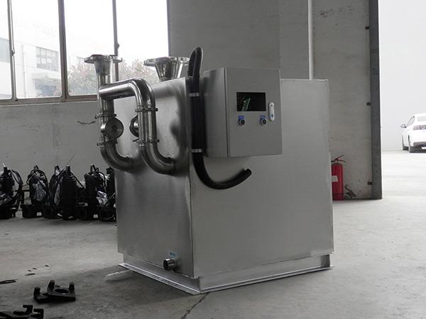 工程大室内移动一体化油水分离提升设备尺寸
