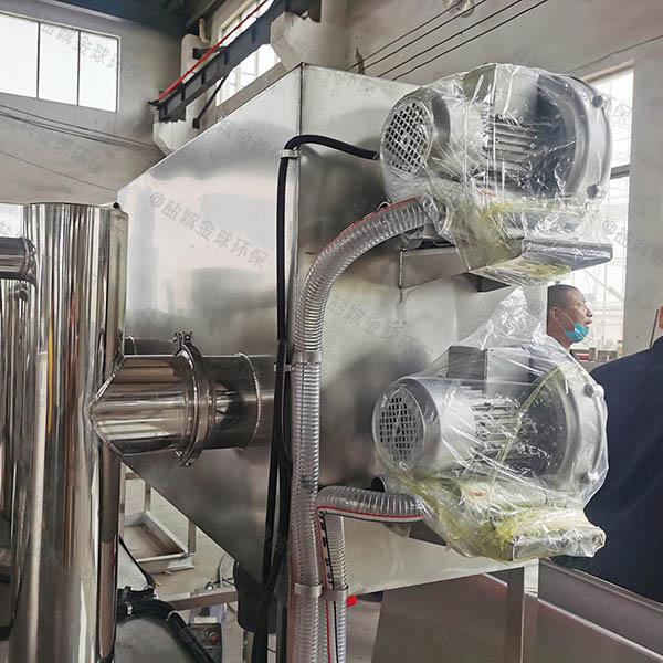 中餐大地埋全自动智能型隔油过滤器使用方法