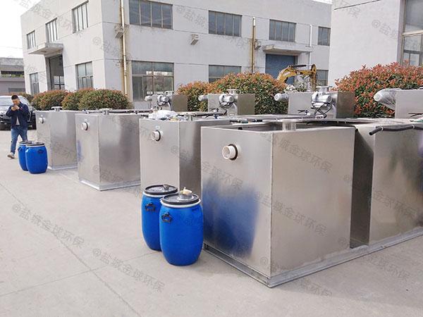 工程地下室大自动排水一体化隔油池处理设备使用说明