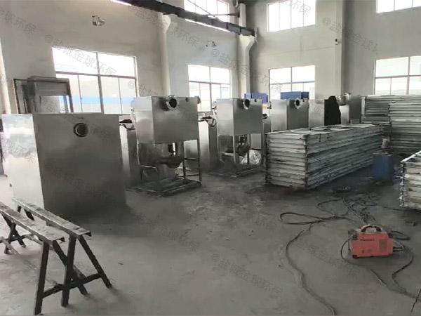 厨下型地上式大智能型除油污水处理设备使用说明