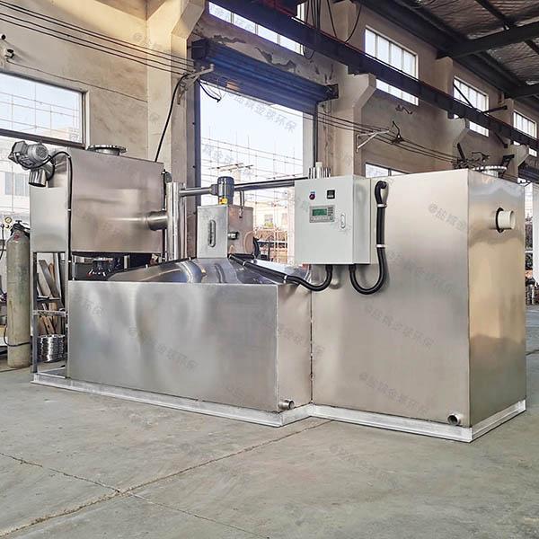 工厂食堂中小型地下室智能型下水隔油池型号选择