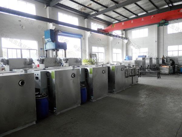 餐用室内自动除渣油水分离器提升设备生产厂
