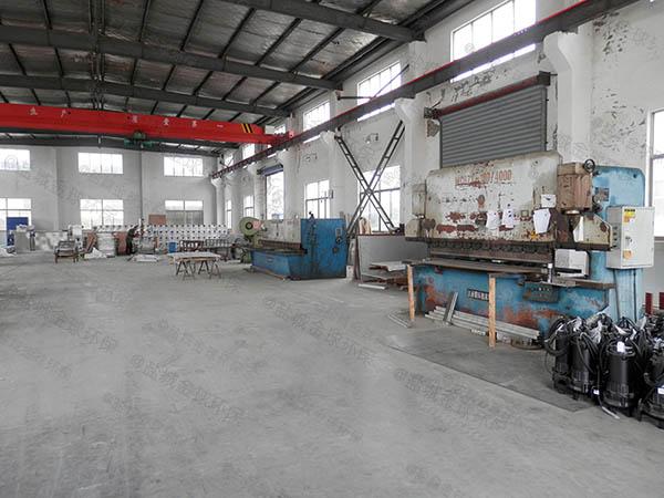 工厂食堂地埋式大型自动除渣油水固相分离装置设计