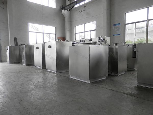 综合体地上式大型全自动智能型三格式隔油池厂家