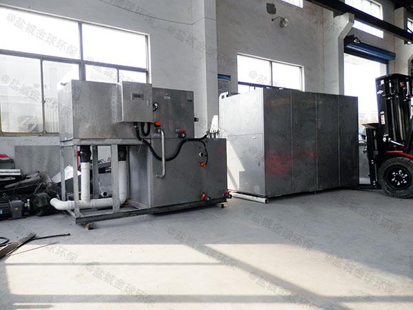 火锅专用地埋式自动排水油水分离器隔油池十大品牌
