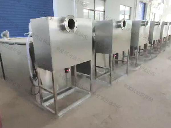 工地食堂地下室中小型智能化油水分离过滤机施工工艺