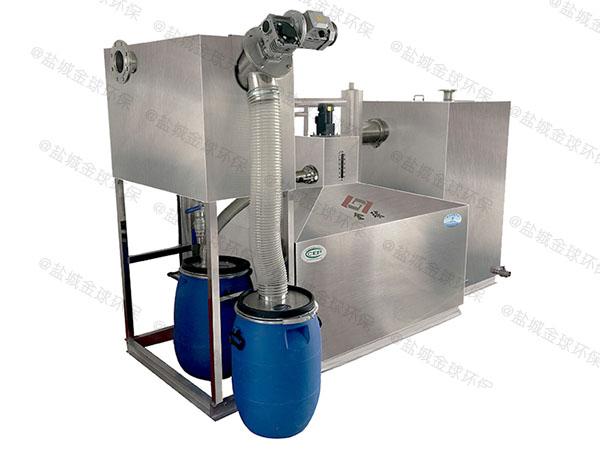 后厨室内无动力垃圾处理器油水分离那个品牌好