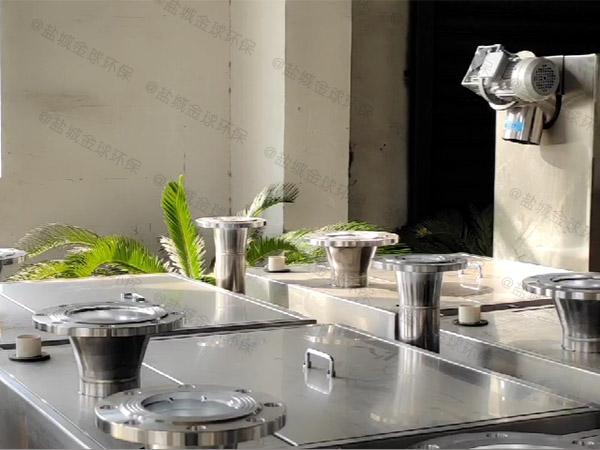 餐饮环保地埋式机械油水处理设备改造公司