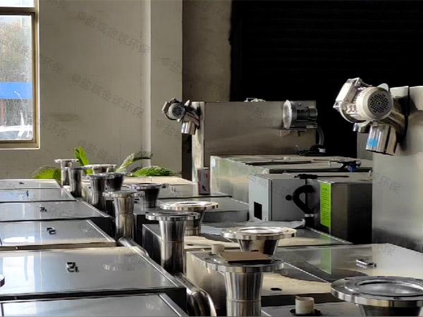 餐厅厨房大地下室全自动油水渣三相分离机属于什么类