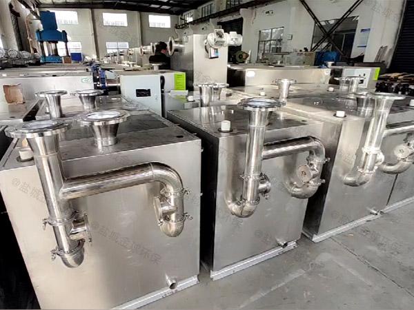 厨余大型地上组合式水与油分离机器图集
