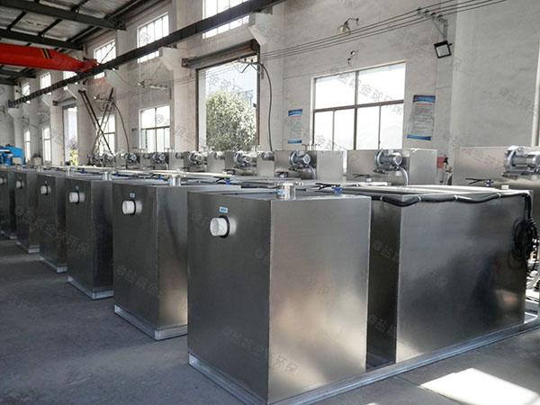 生活埋地自动除渣一体化油脂分离设备放在哪里