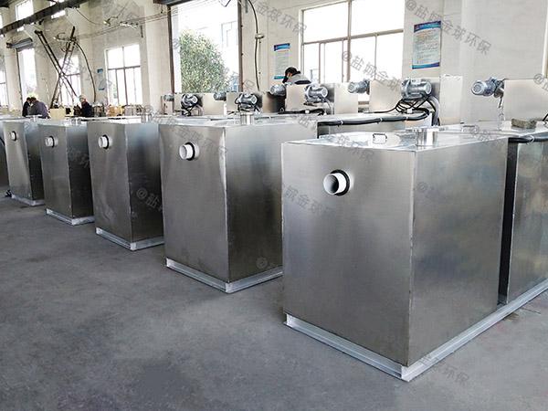 8吨的长宽高厨房智能油水分离机做法