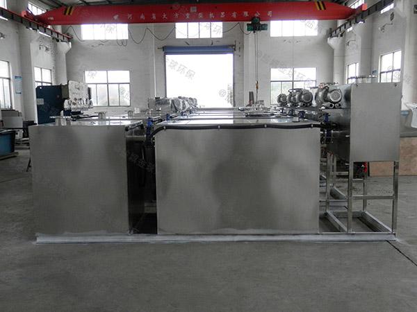 3.5米*1.35米*1.85米餐厨垃圾自动化油水分离价格