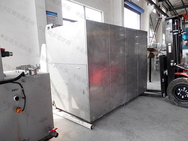 厨房用30立方隔油隔渣隔悬浮物隔油提污设备介绍