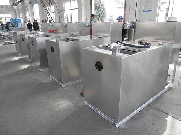 商业地下式简易油水处理设备公司