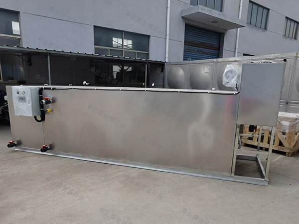 小饭店室外移动化油池制造商