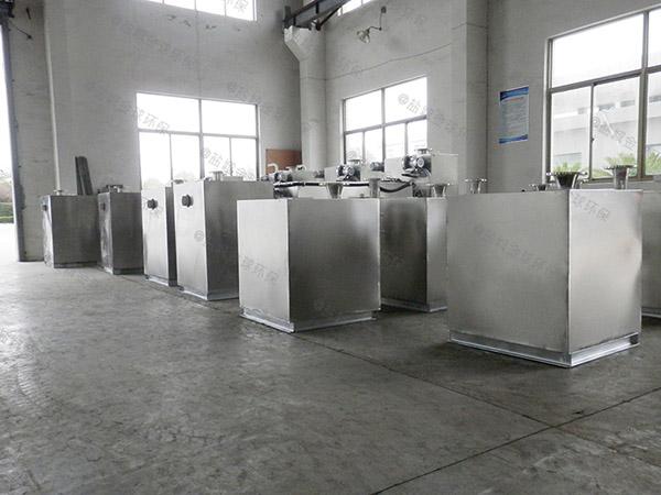 3.5米*1.35米*1.85米餐厨智能化隔油提升一体化设备采购