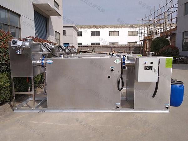 30立方食堂自动刮油油水分离器生产