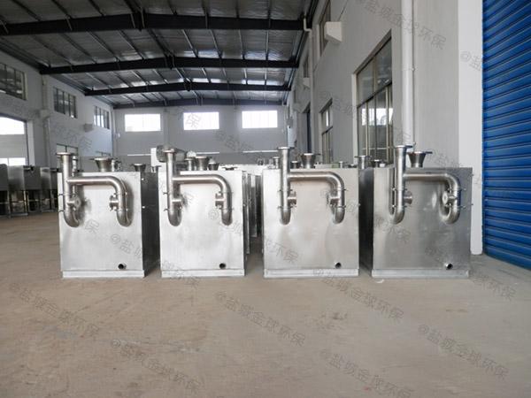 工厂食堂1000人隔渣隔油处理器品牌排行