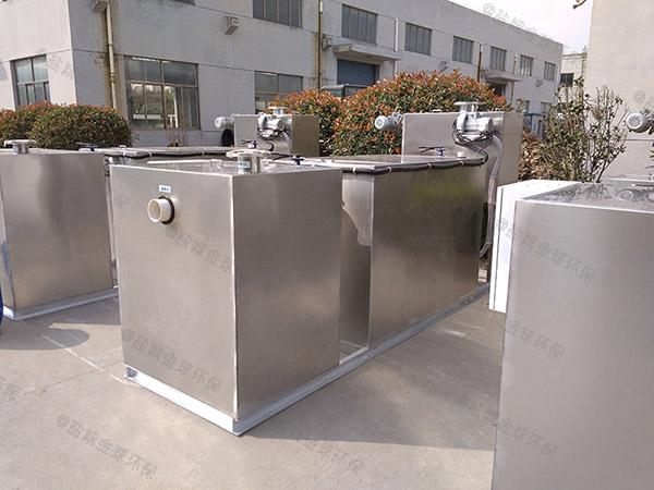 500人饭店用智能化隔油提升设备制造
