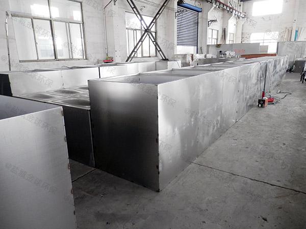 餐饮环保中小型不锈钢隔油提升一体机生产商