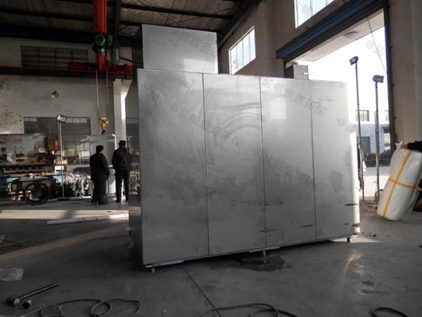 工地食堂8吨的长宽高隔悬浮物隔油提污设备检测报告