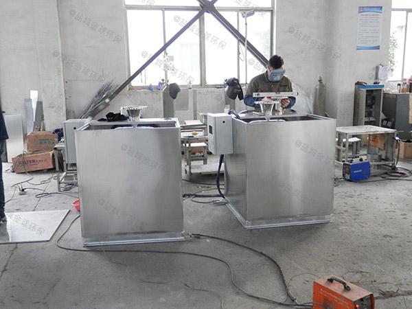 小饭店埋地全能型隔油污水提升设备制造标准